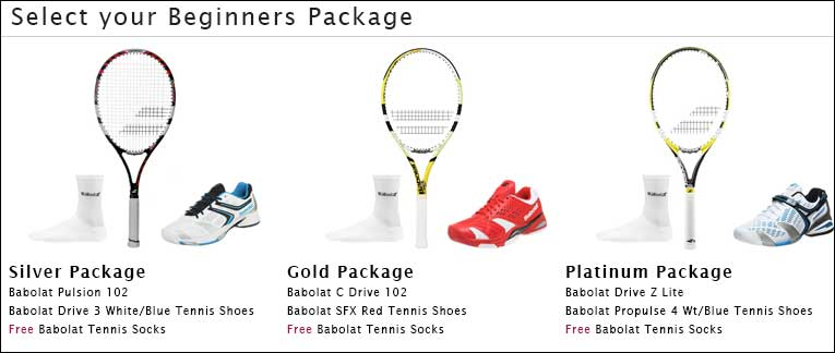 Babolat Beginners Package