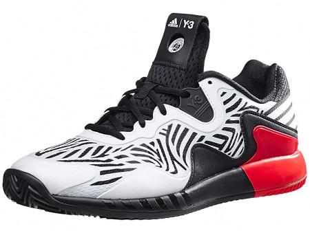 cd6c70be9096 adidas adizero Y-3 2016 Black-White-Red Mens Shoe India
