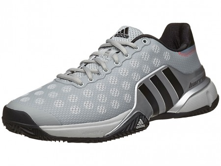 Adidas barricata 2015 clay uomini grigi scarpa india