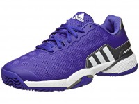 adidas Barricade 2015 Purp/White/Silver Junior Shoes