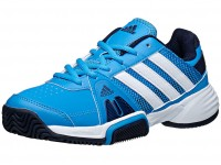 Adidas Junior Tennis Shoes India  Barricade Team 3 Solar Blue / White / Navy