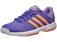 adidas Barricade Team 4 Purple/Orange Junior Tennis Shoes India