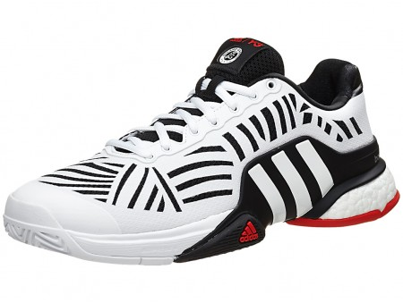 adee6a338 adidas Y-3 Barricade Boost X Black-White-Red Mens Shoe India