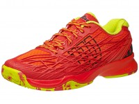 Wilson Kaos Red-Lime Mens Shoes India