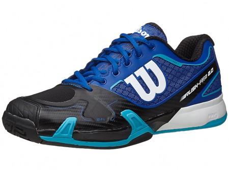 Wilson Rush Pro 2.0 Blue-Black Mens Shoes India