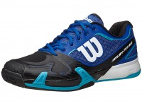 Wilson Rush Pro 2.0 Blue-Black Mens Shoes India