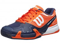 Wilson Rush Pro 2.0 Orange-Navy-White Mens Shoes India