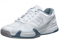 Wilson Rush Pro 2.0 White-Grey-Blue Mens Shoes India