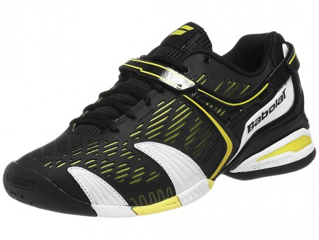 Babolat Propulse 4 All Court Tennis Shoes Black Yellow