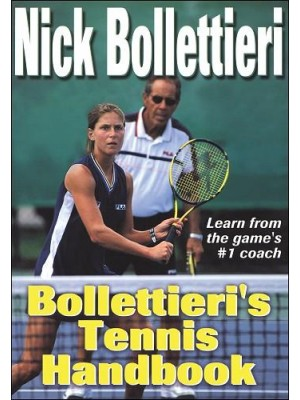 Nick Bollettieri's Tennis Handbook - Tennis Books in India