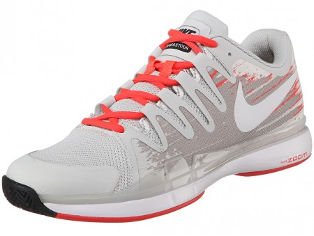 New Nike Zoom Vapor 9.5 Tour India 2014 Grey Crimson Men s ... 0c71a6ca6