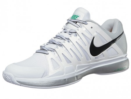Nike Zoom Vapor 9 Tour White/Platinum Men's Shoe