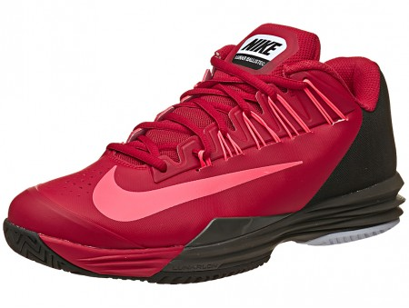 Nike Lunar Ballistec Red Hyper Punch Men's Tennis Shoe India