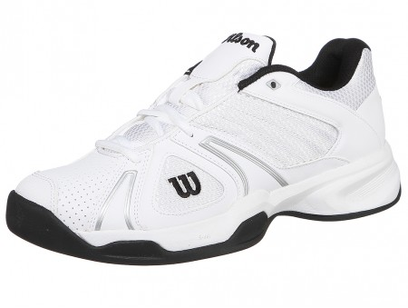 Wilson Open White/Black Men's Tennis Shoe